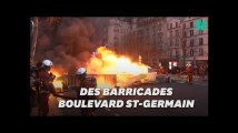 Gilets jaunes: À Paris, le boulevard Saint-Germain a souffert de l'acte VIII
