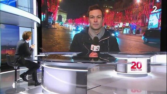 """""""Gilets jaunes"""" : le calme est revenu sur les Champs-Élysées"""