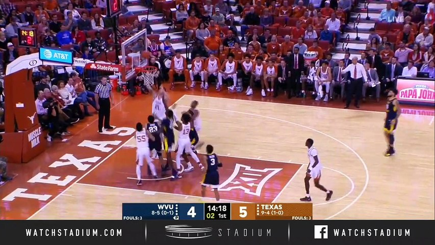 West Virginia vs. Texas Basketball Highlights (2018-19)