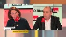"""Laurent Berger, CFDT, """"En face de nous on a un gouvernement qui a voulu se passer des syndicats"""""""