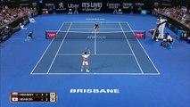 Kei Nishikori beats Daniil Medvedev 6-4. 3-6, 6-2 to win Brisbane International
