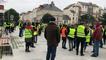 470 Gilets jaunes défilent à La Roche-sur-Yon