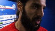 Les réactions des joueurs de l'Olympique Strasbourg après l'élimination face à St-Etienne (32e de finale de Coupe de France)