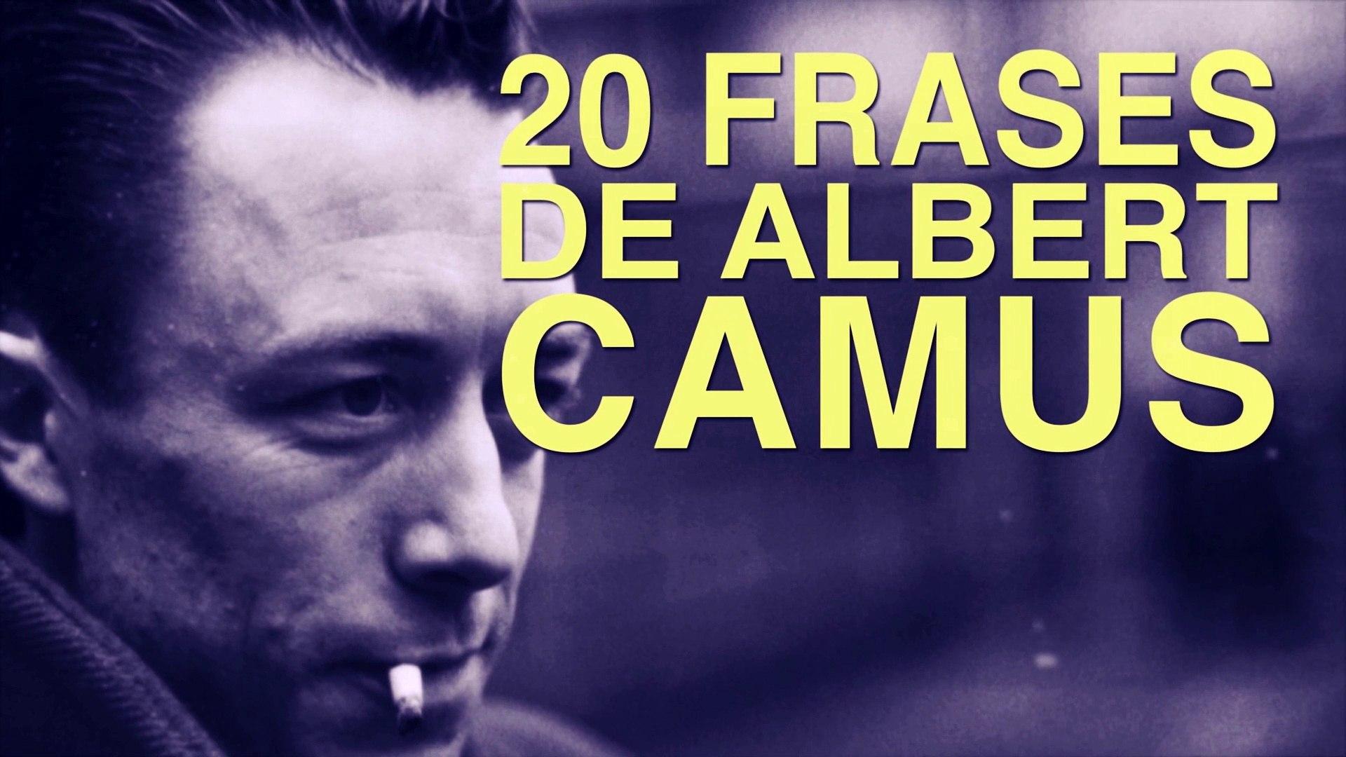 20 Frases De Albert Camus Y La Filosofía Del Absurdo