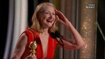 Patricia Clarkson obtient le Golden Globe de la meilleure actrice second rôle - Golden Globes 2019