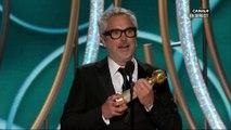 Alfonso Cuaron remporte le prix du meilleur réalisateur avec Roma - Golden Globes 2019