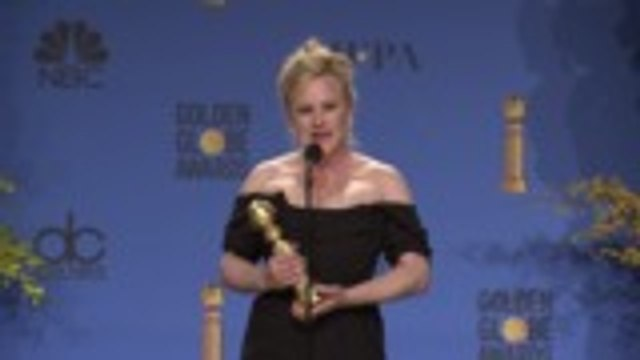 Patricia Arquette Wins Best Actress in a Limited Series for 'Escape at Dannemora' | Golden Globes 2019