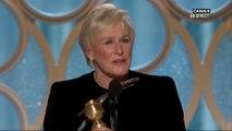 L'émouvant discours de Glenn Close pour son rôle dans The Wife - Golden Globes 2019