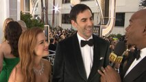 Sacha Baron Cohen on How He Keeps a Straight Face Throughout Roles (Exclusive)
