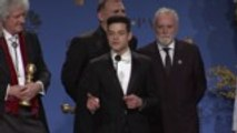 Rami Malek Wins Best Actor for 'Bohemian Rhapsody,' Film Wins Best Picture | Golden Globes 2019