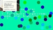 The Art of Computer Programming: Volume 1: Fundamental Algorithms: Fundamental Algorithms v. 1