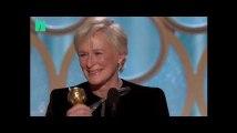 Glenn Close aux Golden Globes a volé la vedette à Lady Gaga