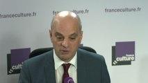 """Jean-Michel Blanquer : """"Ce que j'ai fait à l'Education nationale, c'est la politique sociale la plus forte en matière d'éducation prioritaire"""""""