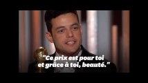 Le baiser de Rami Malek à Freddie Mercury lors des Golden Globes
