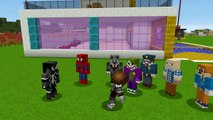 Örümcek Bebek Çetesi Düşman Kabaklar ile Savaşıyor Örümcek Adam Şok Oluyor (Minecraft Maceraları 98)