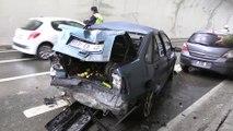 Karahisar Tüneli'nde zincirleme trafik kazası - AFYONKARAHİSAR