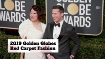 The Golden Globe Awards Red Carpet Fashions