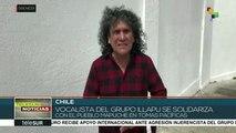 Chile: apoya cantante de Illapu a mapuches que tomaron municipalidades