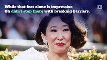 Sandra Oh Makes Golden Globes History