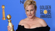 "Patricia Arquette Apologizes For ""F-Bomb"" Dropped In Her Golden Globes Acceptance Speech"