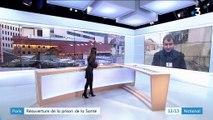 Paris : réouverture de la prison de la Santé