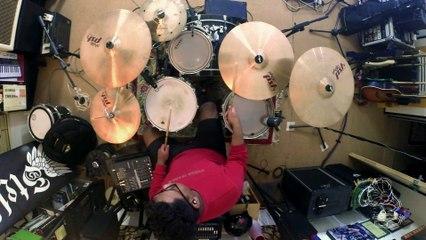 Drum Cam Jammed   Sampai Bila - Beeru by Shafiq Muffins
