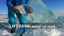 Il enregistre les sons que fait la glace sur le lac Baïkal en Russie ! Impressionnant