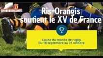 USRO Rugby - Ris-Orangis soutient le XV de France - Coupe du monde de rugby 2016