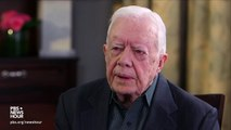 Contradicting Trump, Jimmy Carter Says He 'Does Not Support' Trump On Border Wall Plan