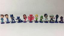 12 PJ Masks Blind Bag Figures Complete w Rare Connor Series 1 with Secret Codes || Keith's Toy Box