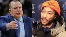 """Derrick Rose Tells Haters To """"Kill Themselves"""" After Tom Thibodeau's Firing"""