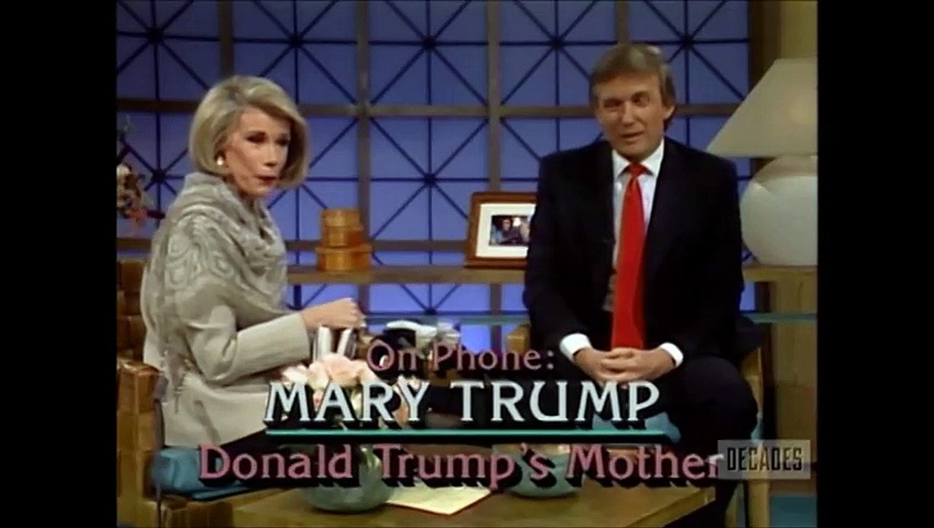 Donald Trump interview (1990)
