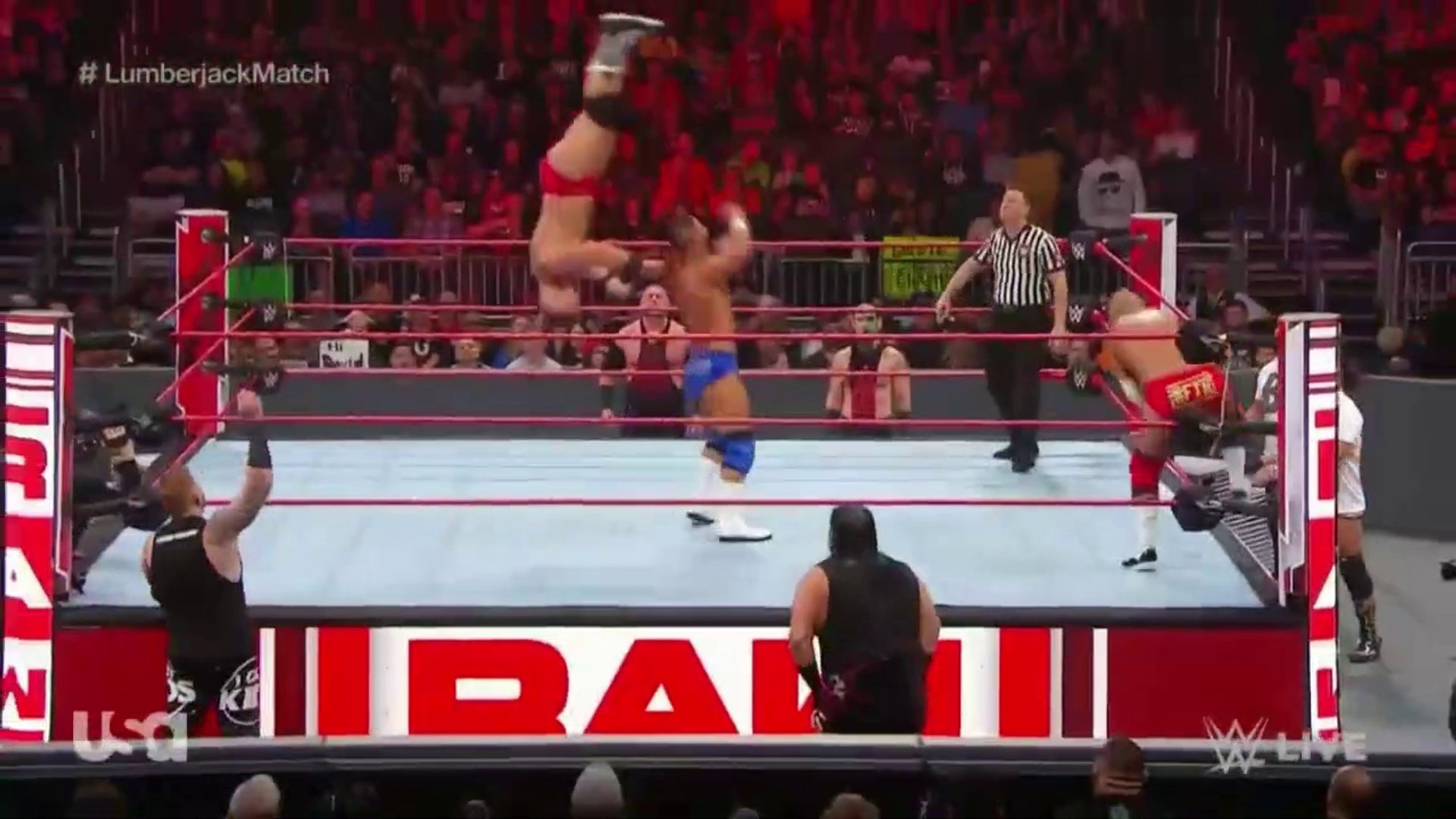 Watch WWE Monday Night RAW  01-07-2019 | 7th January 2019 Full Show Part 5