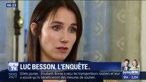 """""""Je lui ai dit 'arrête, tu me fais mal' (…) Il ne s'est pas arrêté."""" L'actrice qui accuse Luc Besson de viols  témoigne sur BFMTV"""