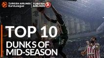 Turkish Airlines EuroLeague, Top 10 Dunks of Mid-Season