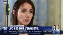 L'actrice qui accuse Luc Besson de viol revient sur les faits