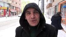 Kar yağışı ve tipi - KARS