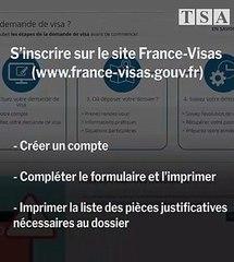 Quelle procédure pour demander un visa pour la France ?