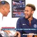 L'interview géniale de Mbappé et Neymar par Orange et le PSG