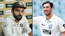 India vs Australia : Virat Kohli Supports Mitchell Starc After India's Series Win Over Australia