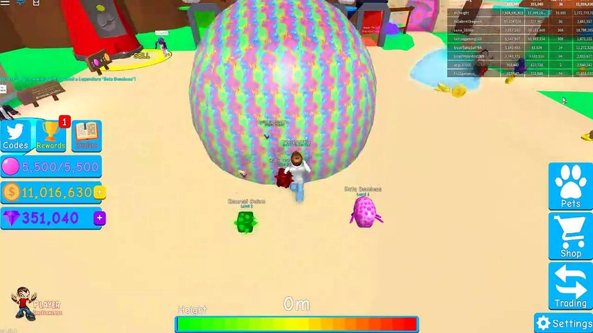 [CANDY LAND] Bubble Gum Simulator UPDATE 9 - Beta Dominus New Pet  Discovered - Roblox