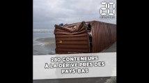 280 conteneurs tombés en mer du Nord, près des Pays-Bas