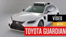 Novedades de Toyota Guardian, la plataforma de conducción automatizada