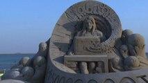 A Shanghai il festival delle sculture di sabbia
