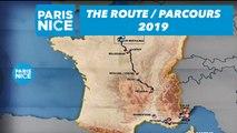 The route / Parcours - Paris-Nice 2019