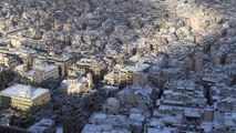 Athènes se réveille sous la neige