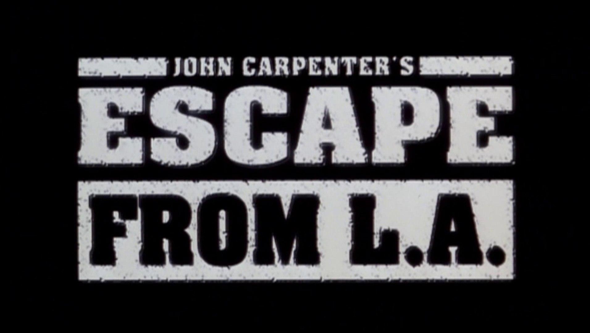 Escape from L.A. / Los Angeles 2013 (Trailer - Bande annonce OV Movies Version 1996) HD - HQ - 16.9