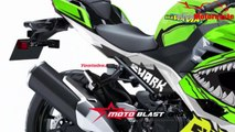 2019 Kawasaki Ninja 250R Fi / Ninja 400R Fi Green Shark New Version   Mich Motorcycle