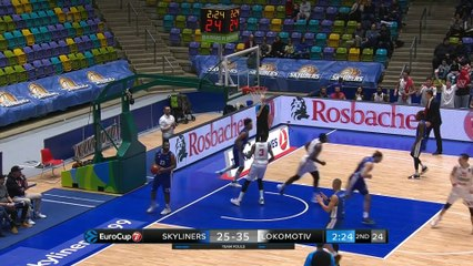 7Days EuroCup Highlights Top 16, Round 2: Skyliners 69-92 Lokomotiv