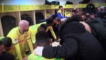 FC Nantes - Montpellier : la joie du vestiaire